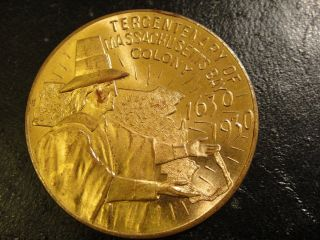 1930 Massachusetts Bay Colony Tercentenary Medal.  Uncirculated photo