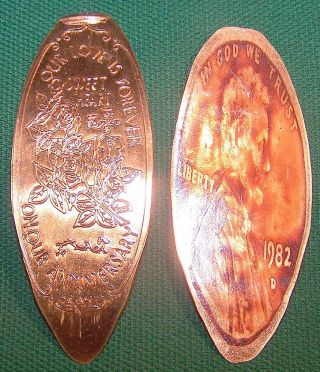 Kir - 185: Elongated Cent : Our Love Is Forever / Sweet Heart / On Our Anniversary photo