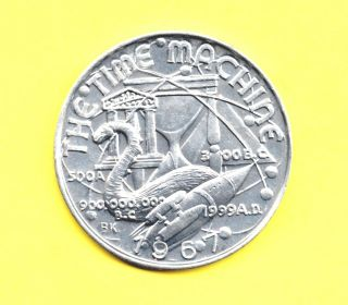 The Time Machine Token 1967 H.  G.  Wells Story Of Time Travel photo