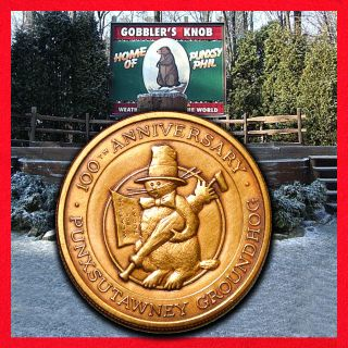 Groundhog Punxsutaweny Phil Legendary Limited Edition Token photo
