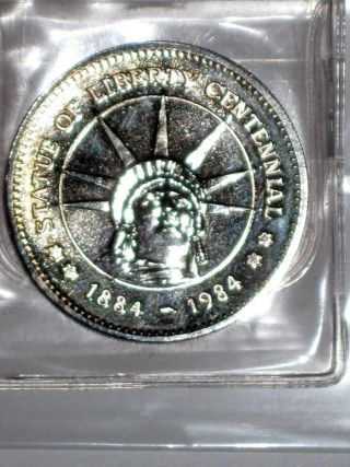 Vintage Statue Of Liberty 1884 - 1984 100th Anniversary Token photo