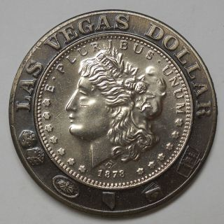 Las Vegas Entertainment Capitol Of The World Dollar Token - Morgan Dollar Size photo