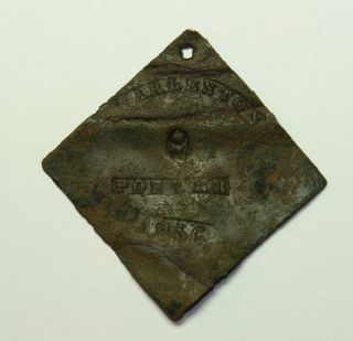 Authentic Charleston 1856 Slave Tag - Number 9 - Porter photo