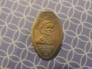 Elongated Penny - Ectp00170z - Stone Mountain Park - Jefferson Davis photo
