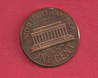 Sudbury 1965 Lincoln Memorial Medallion High - Grade Bp3 photo