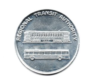 Streetcar Token Orleans Regional Transit Authority Coin photo