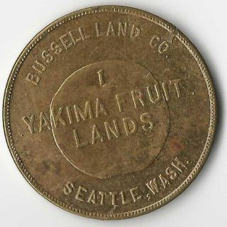 Seattle Washington Swastica/swastika Token - Rare Maker photo