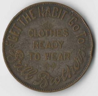 York City Brill Brothers Token Without Swastica/swastika photo