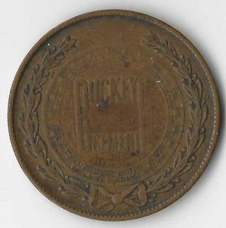Bellefontaine Ohio Dont Worry Club Token With No Swastica/swastika photo