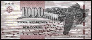 Faeroe Islands - 1000 Kronur,  2011 - Unc photo