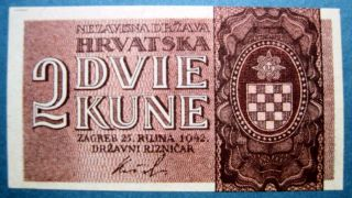 Croatia 1942 2 Kune photo