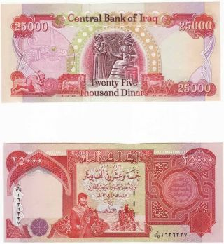 How Much Is 25 000 Iraqi Dinars Worth In Us Dollars New