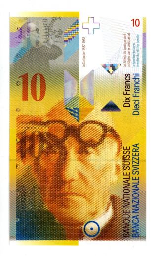 Switzerland … P - 67c … 10 Francs … Nd (2008) … Unc photo