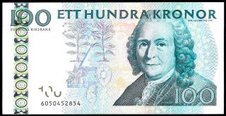 Sweden - 100 Kronor 2006 Unc - P 65 C photo