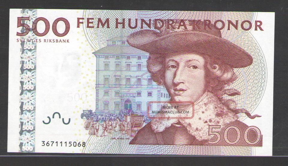 Sweden 500 Kronor 2003 Uncirculated P 66 Europe photo