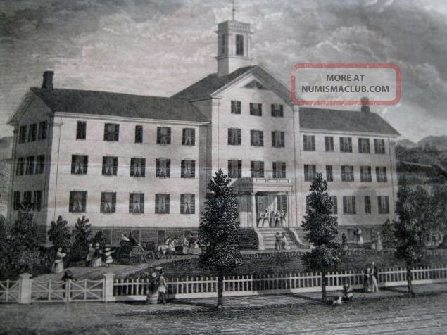 Stock Certificate North Granville Female Seminary 1854 Counterfeiter C.  Meadows Stocks & Bonds, Scripophily photo