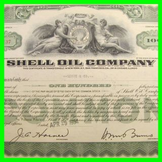 Boone Oil Company /> 1922 old stock certificate share