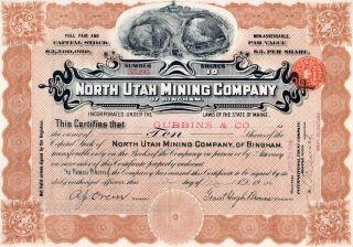 1907 North Utah Mining Company photo