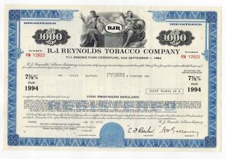 R.  J.  Reynolds Tobacco Company photo