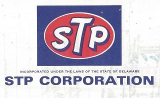 Stp Corporation Stock Certificate 1972 photo