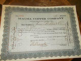 Magma Copper Company photo
