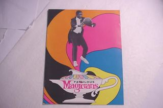 Marques Haynes Fabulous Magicians Brochure About The Team 1970 ' S photo