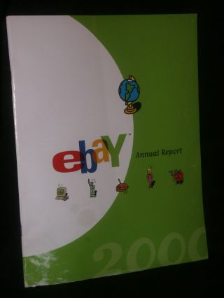 2000 Ebay.  Com Common Stock Annual Report 6th Year Meg Whitman Full Of Info. photo