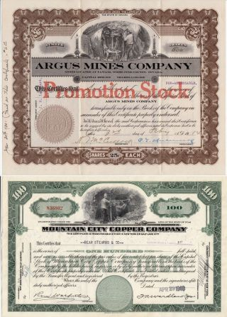 Nevada Ghost Towns Special - 1914 Argus Mines And 1948 Mountain City Copper photo