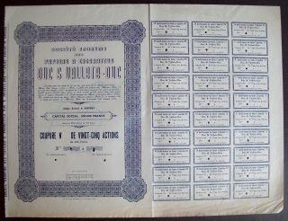 Belgium 1945 Bond Papier A Cigarette Duc Valette - Uncirculated Specimen.  A9777 photo
