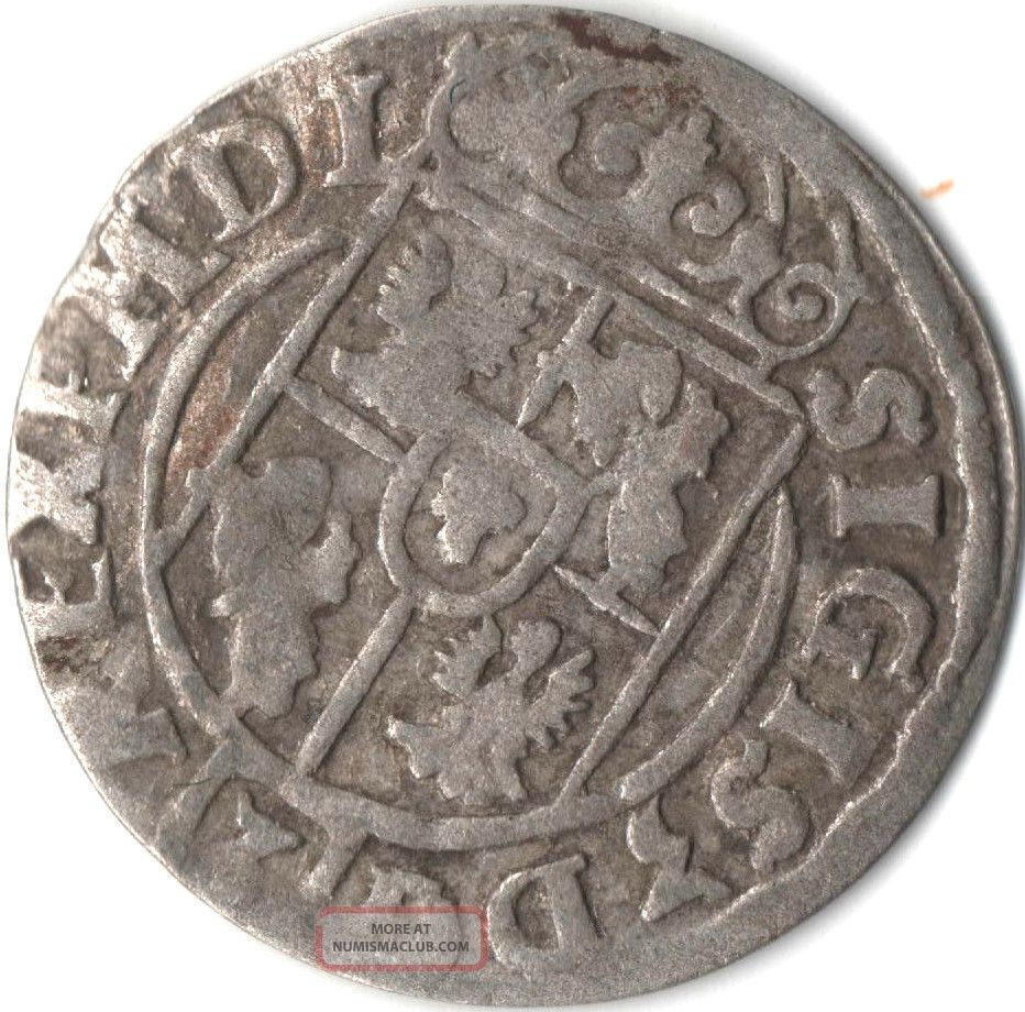 1623 Silver 1 24 Thaler Rare Very Old Antique Renaissance