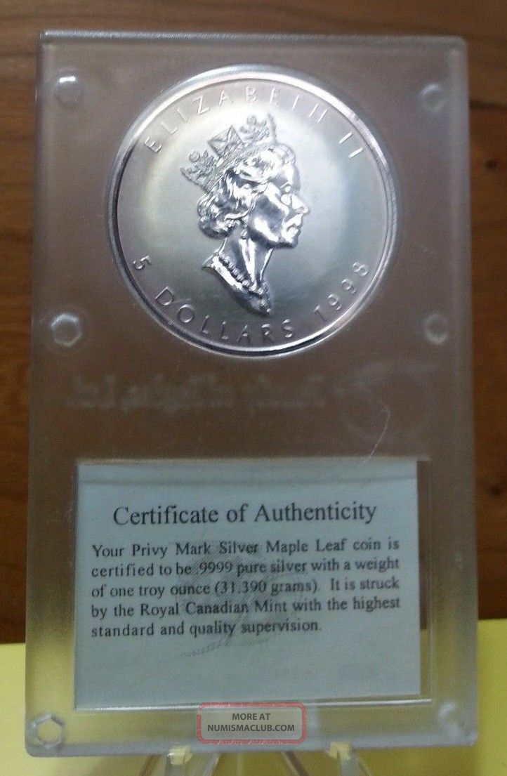 1998 Canada Silver Maple Leaf Quot Titanic Quot Family Of Eagles