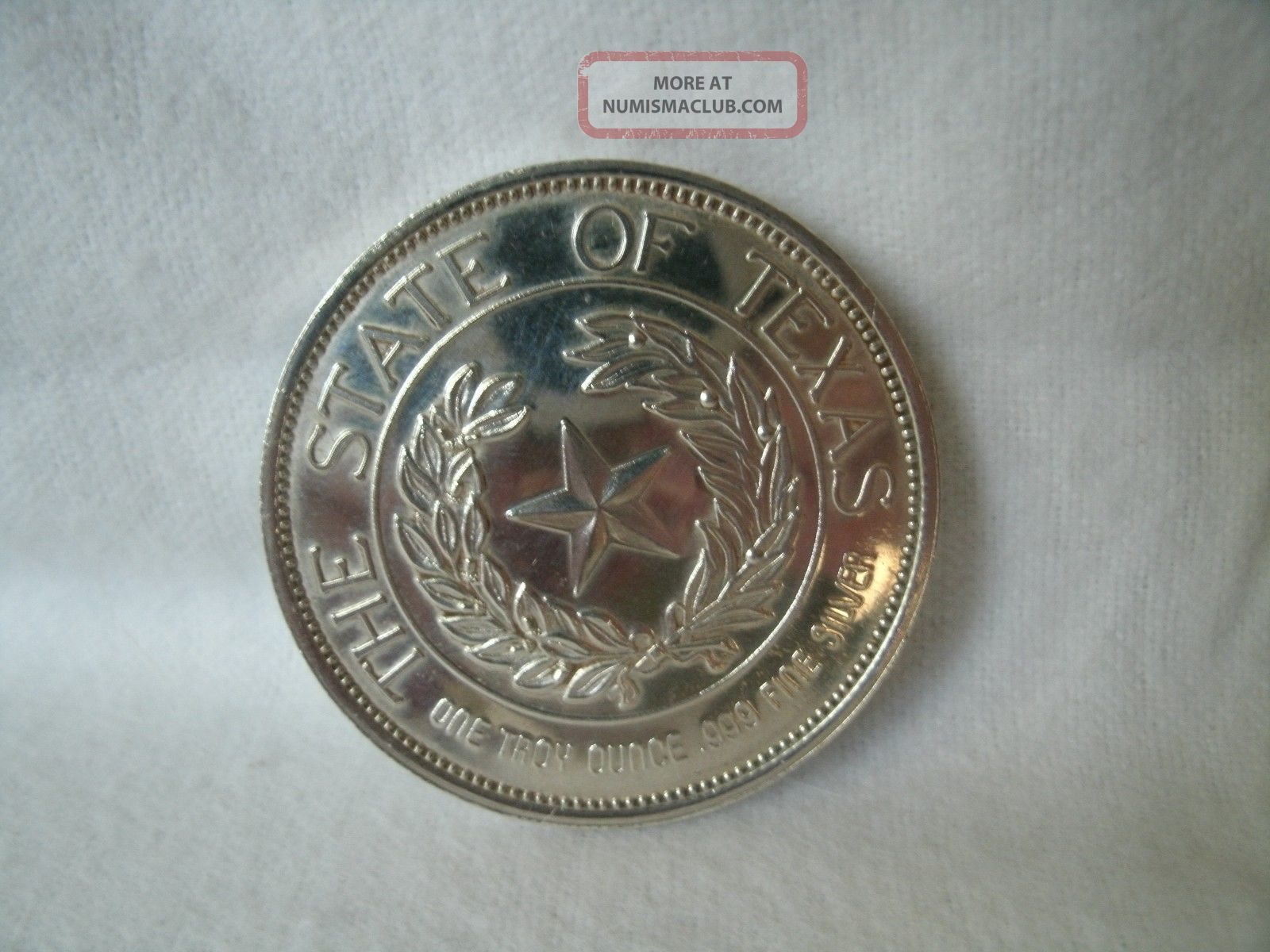 1986 State Of Texas The Alamo 999 Fine Silver 1 Troy