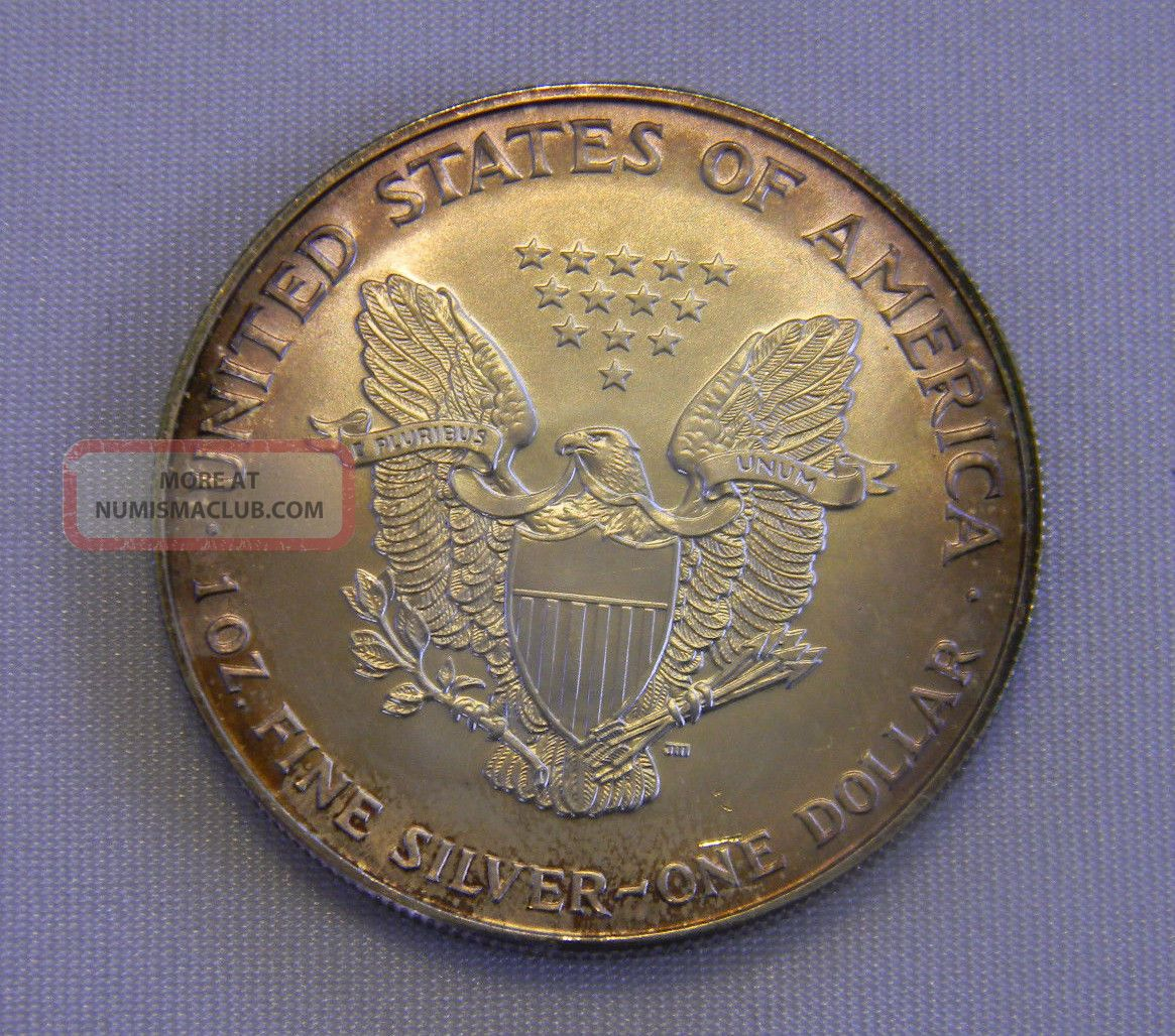 1996 American Eagle Silver One Dollar 1 Ounce Unc 999