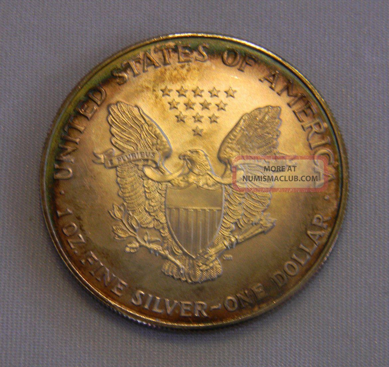 1997 American Eagle Silver One Dollar 1 Ounce Unc 999