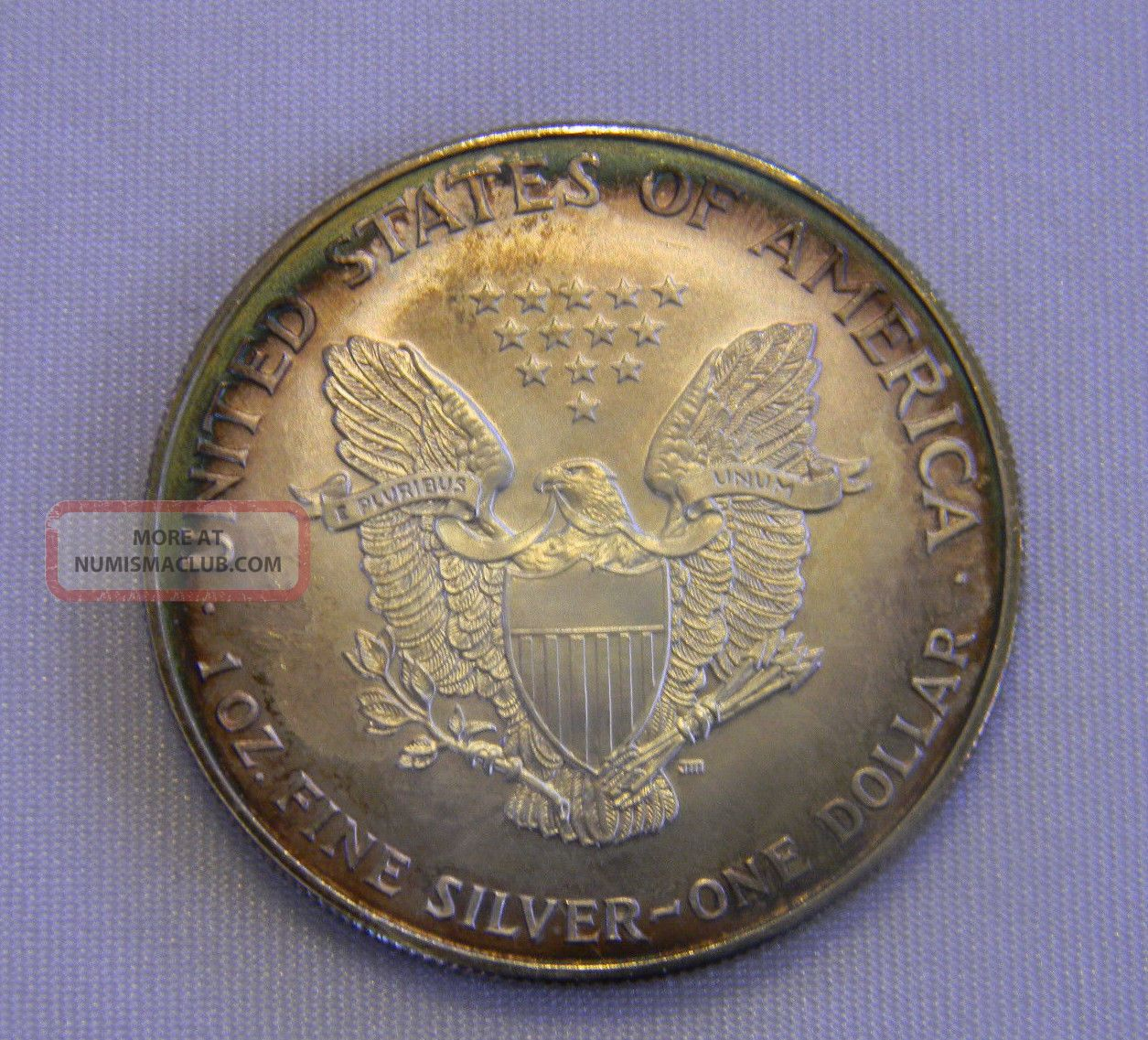 1997 American Eagle Silver One Dollar 1 Ounce Unc 999