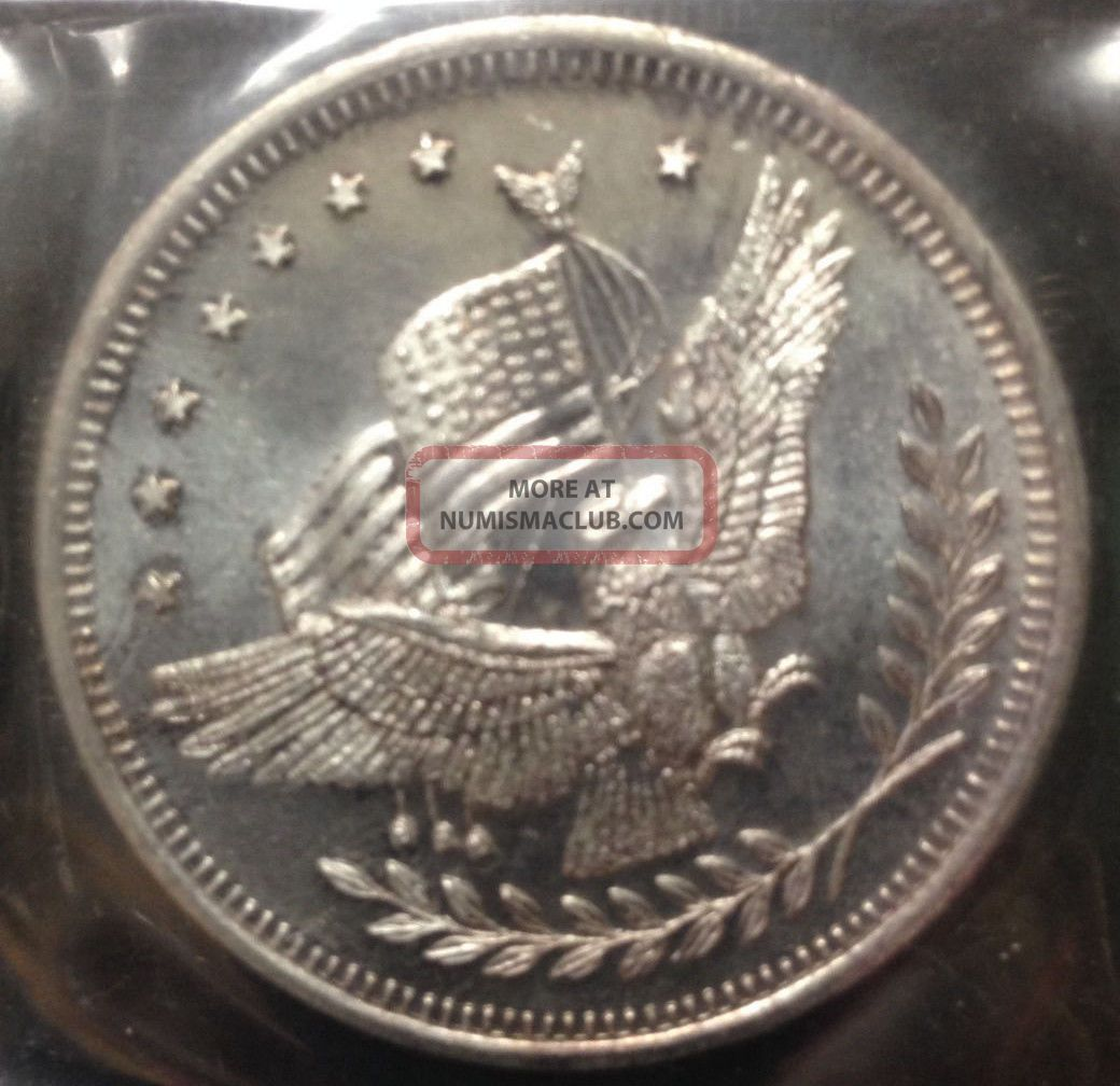 Silver Trade Unit Eagle Round One Troy Ounce 999 Fine