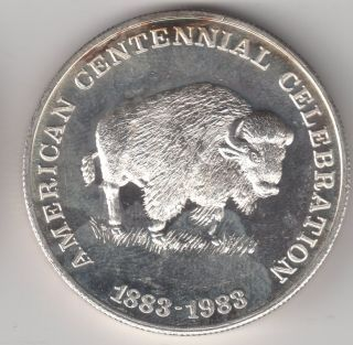 1 Oz German Silver Buffalo Bar Value