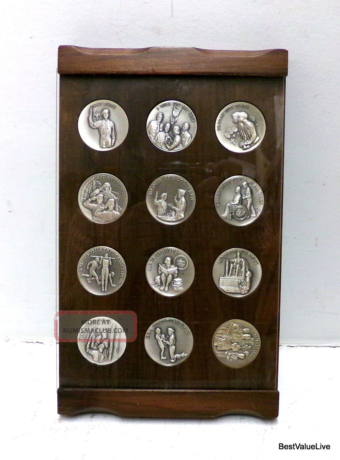 12 Wittnauer Boy Scout Oath 999 Fine Silver Coin