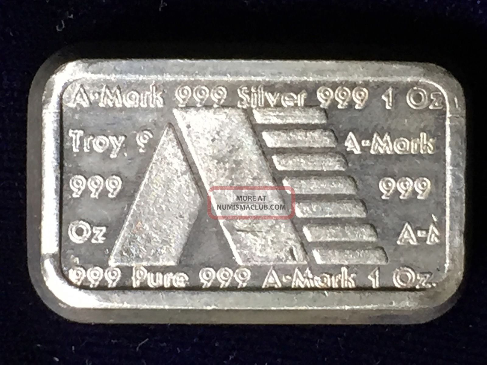 Usvi Ingot Co A Mark Commercial Bar 1981 1 Troy Oz