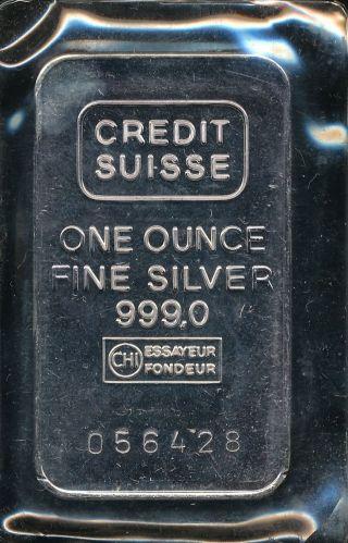 credit suisse essayeur fondeur