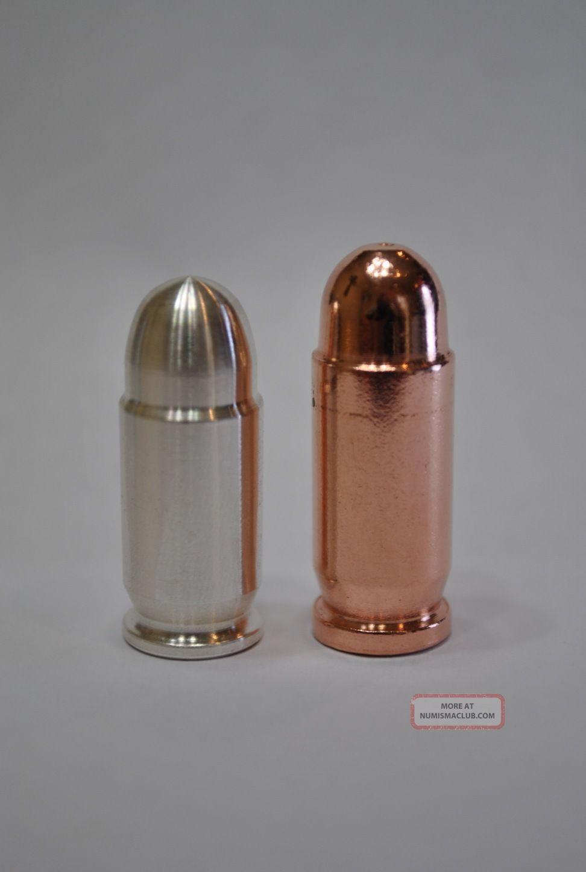 1oz Silver Bullet Bullion Amp 1 Oz Copper Bullet