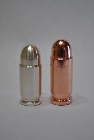 1oz Silver Bullet Bullion & 1 Oz Copper Bullet photo