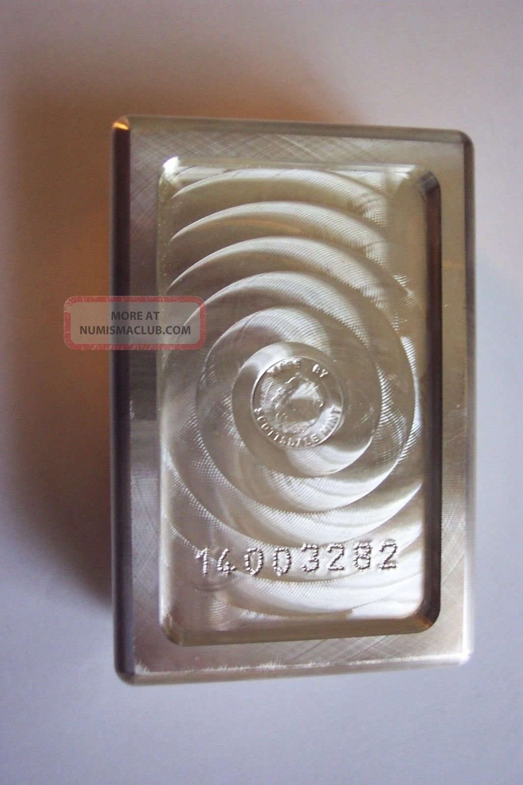 Scottsdale Silver Stacker Kilo Bar 999 Fine Silver