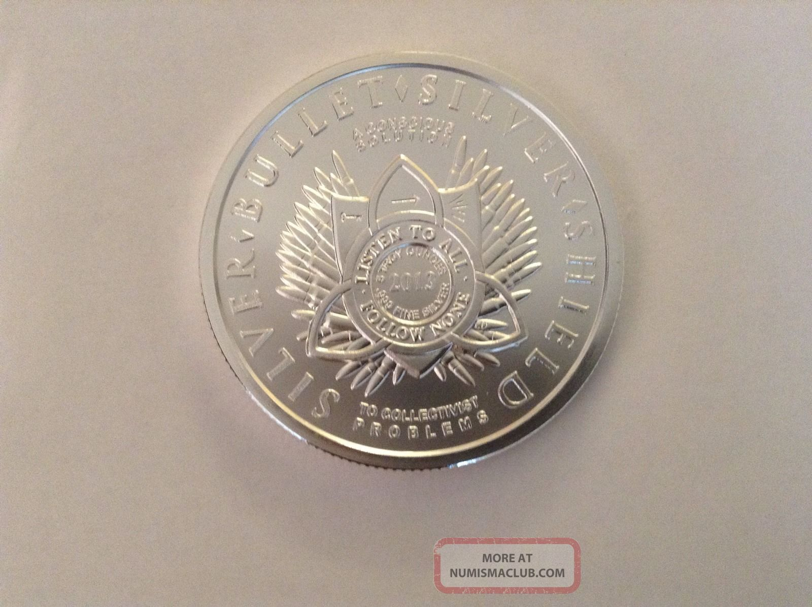 5 Oz Freedom Girl Quot 100 Minted Quot 2013 Silver Bullet Silver