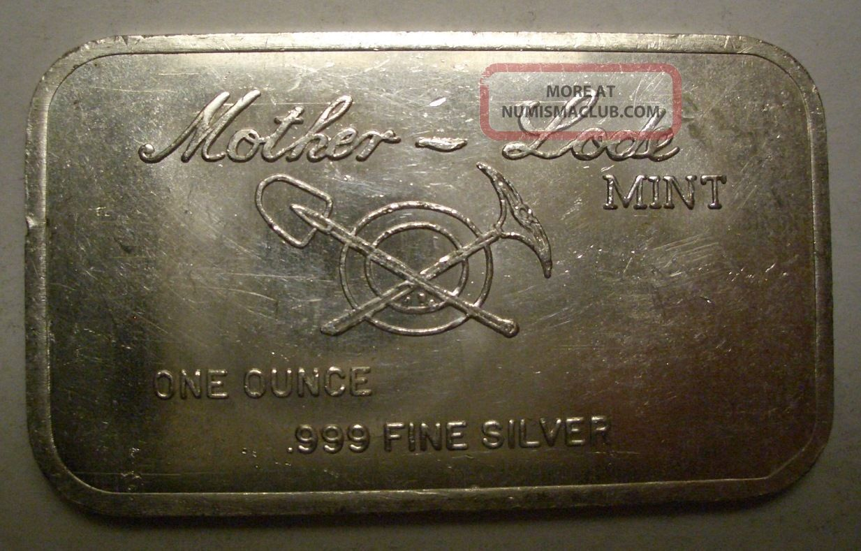 Father S Day 1973 Quot Fishing Quot Mother Lode Silver Bar