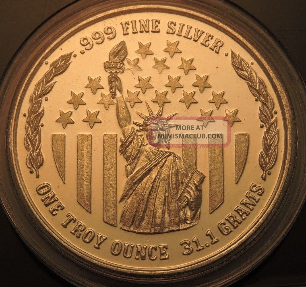 1980 Unicorn West Coast Gold Exchange 1 Oz 999 Fine