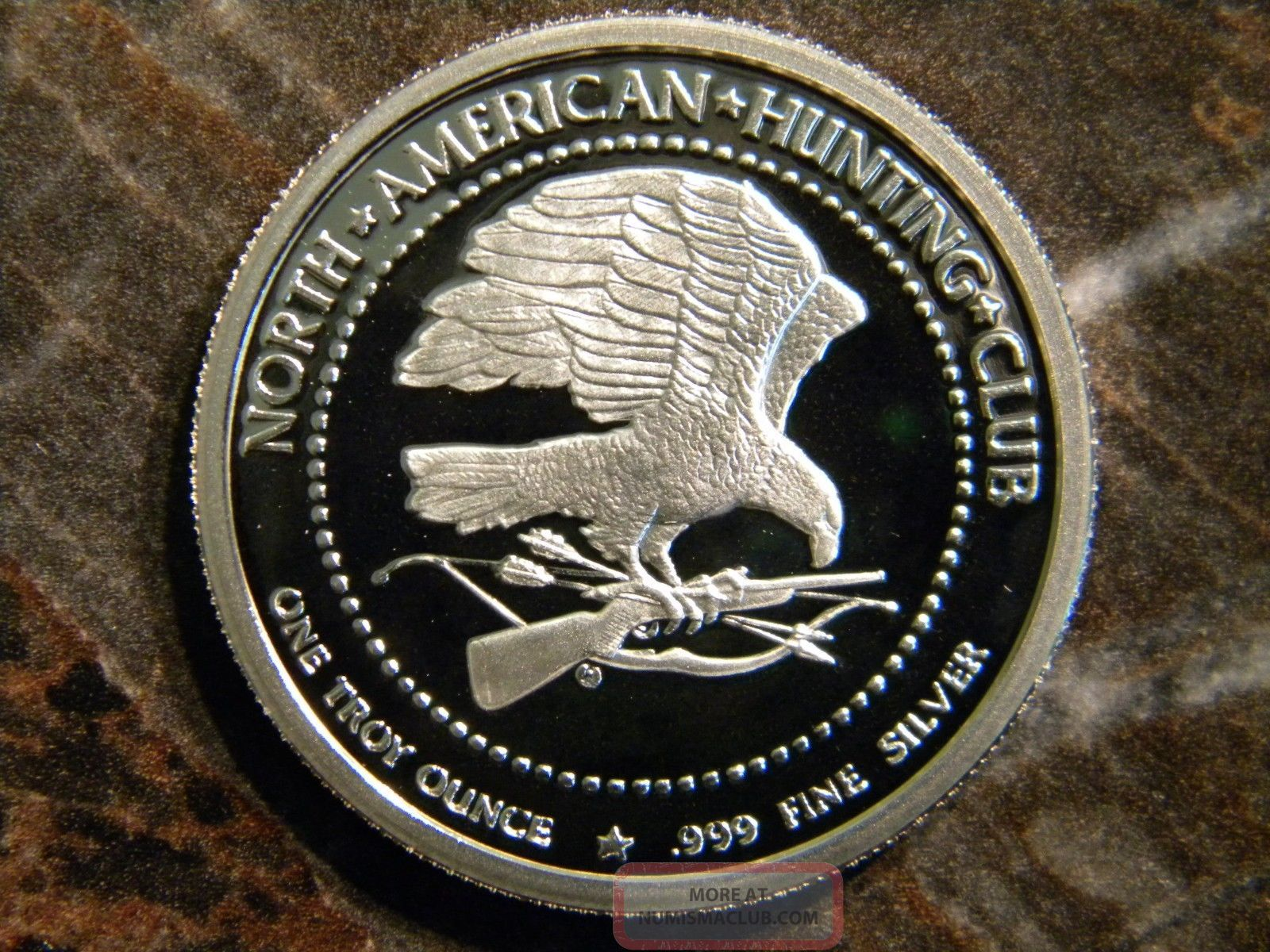 north american hunting club 30th anniversary coin