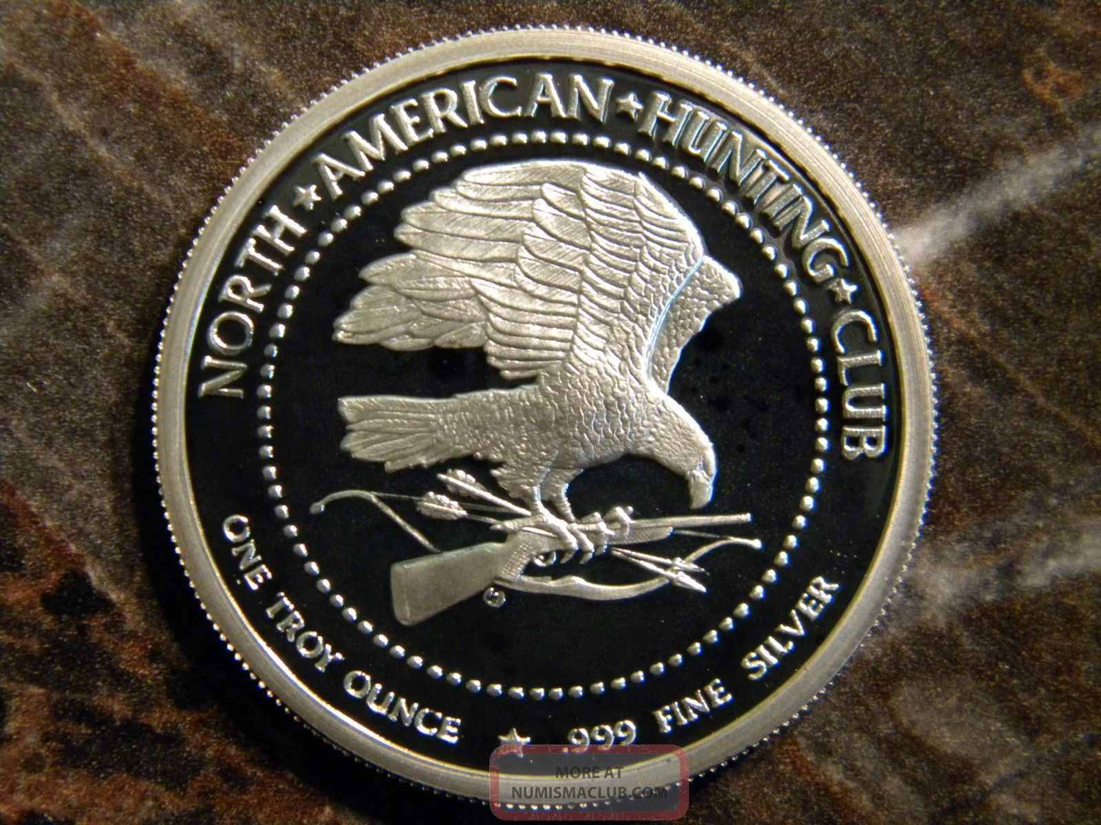 north american hunting club coins value