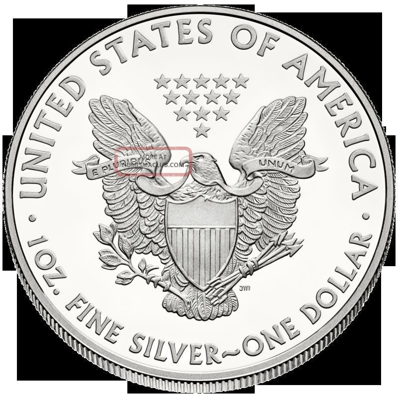 Two 2014 American Eagle Dollar Round Uncirculated One