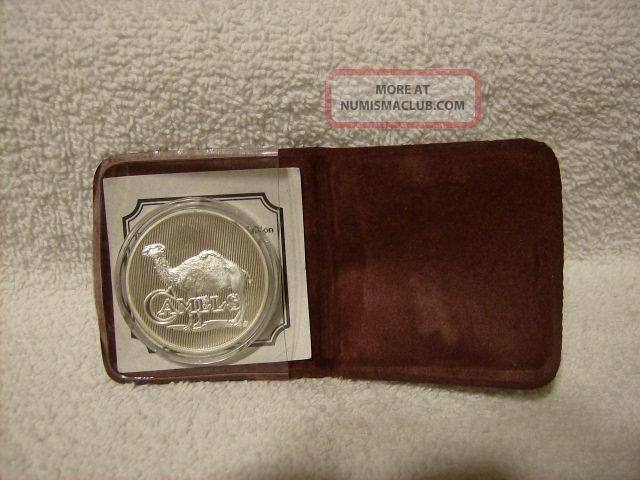 1 Oz 999 Silver Coin R J Reynolds The Camels Are Here
